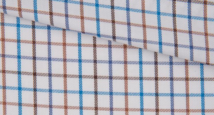tissu à carreaux
