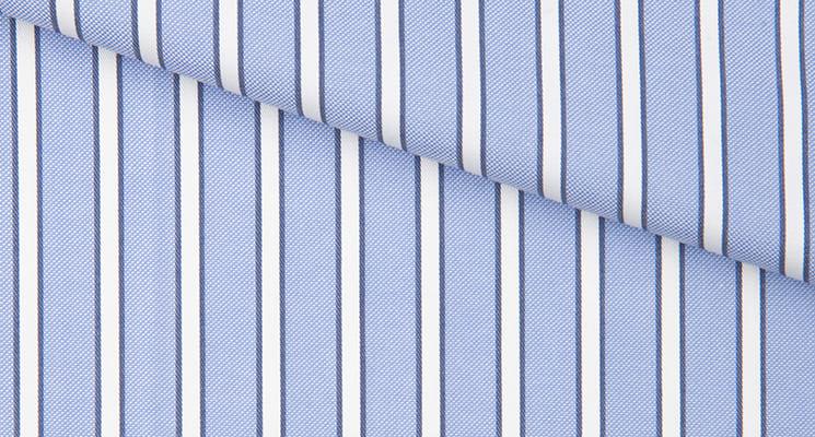 tissu à rayure
